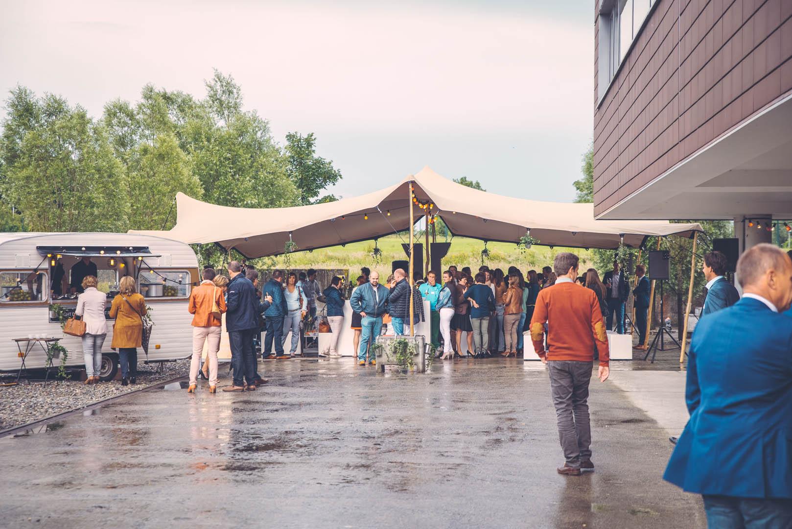 SD Worx Summer Event Drinks Tent