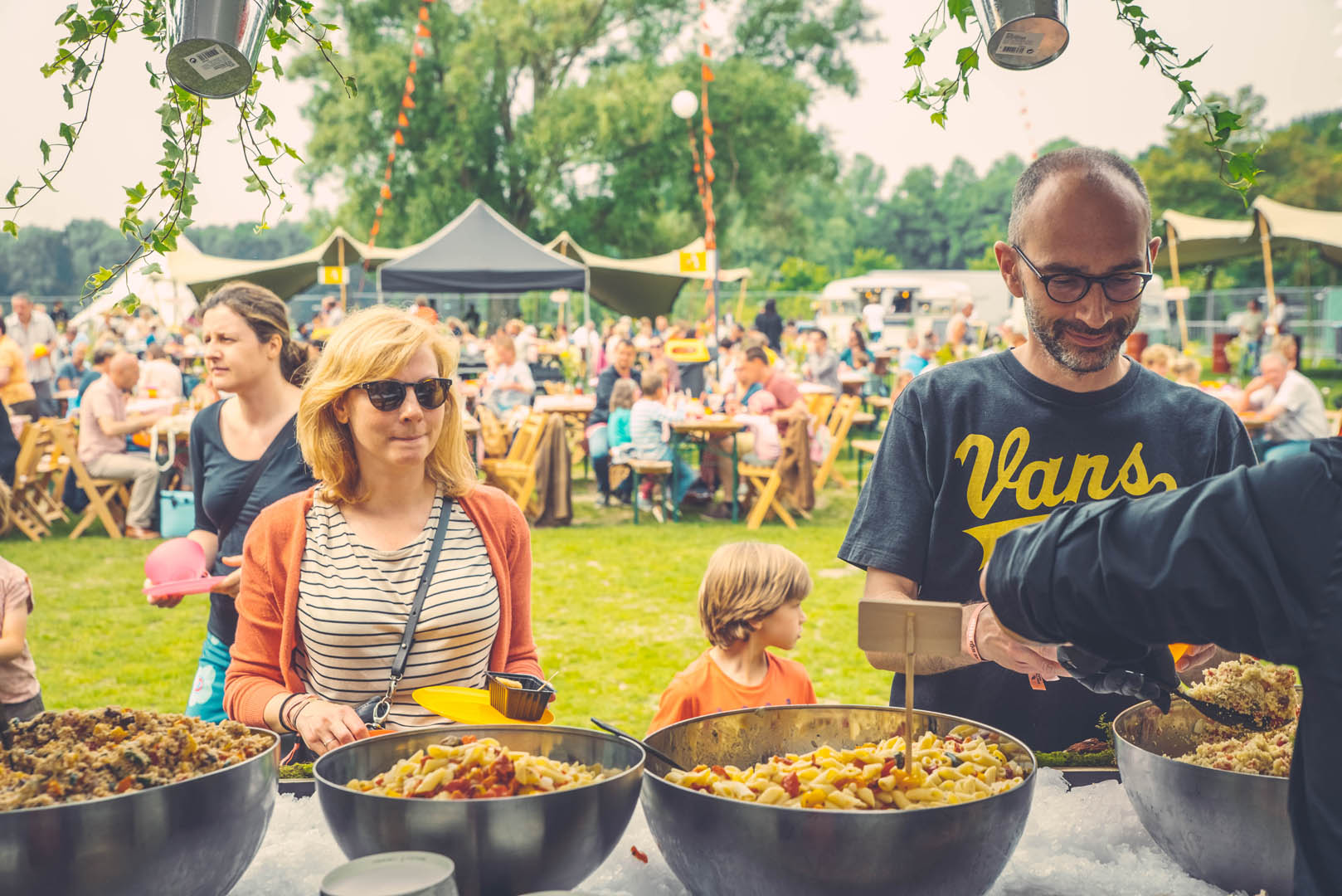 Stad Gent Picknick Event Bediening