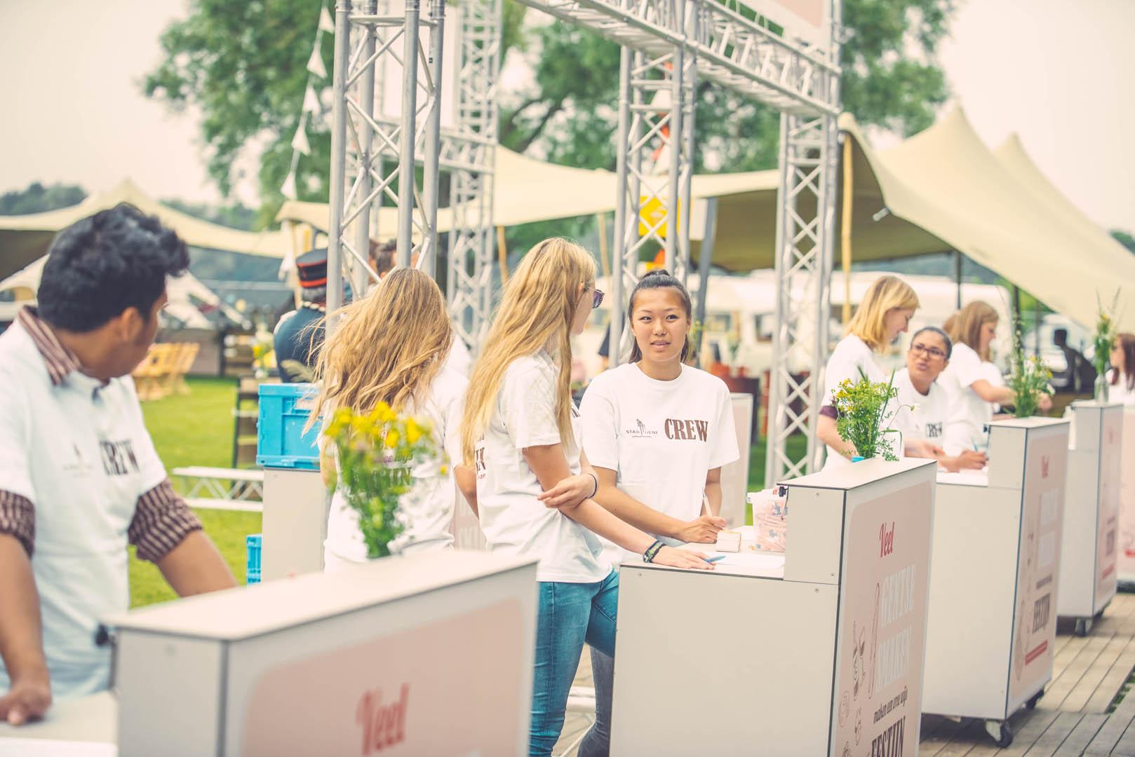 Stad Gent Picknick Event Crew
