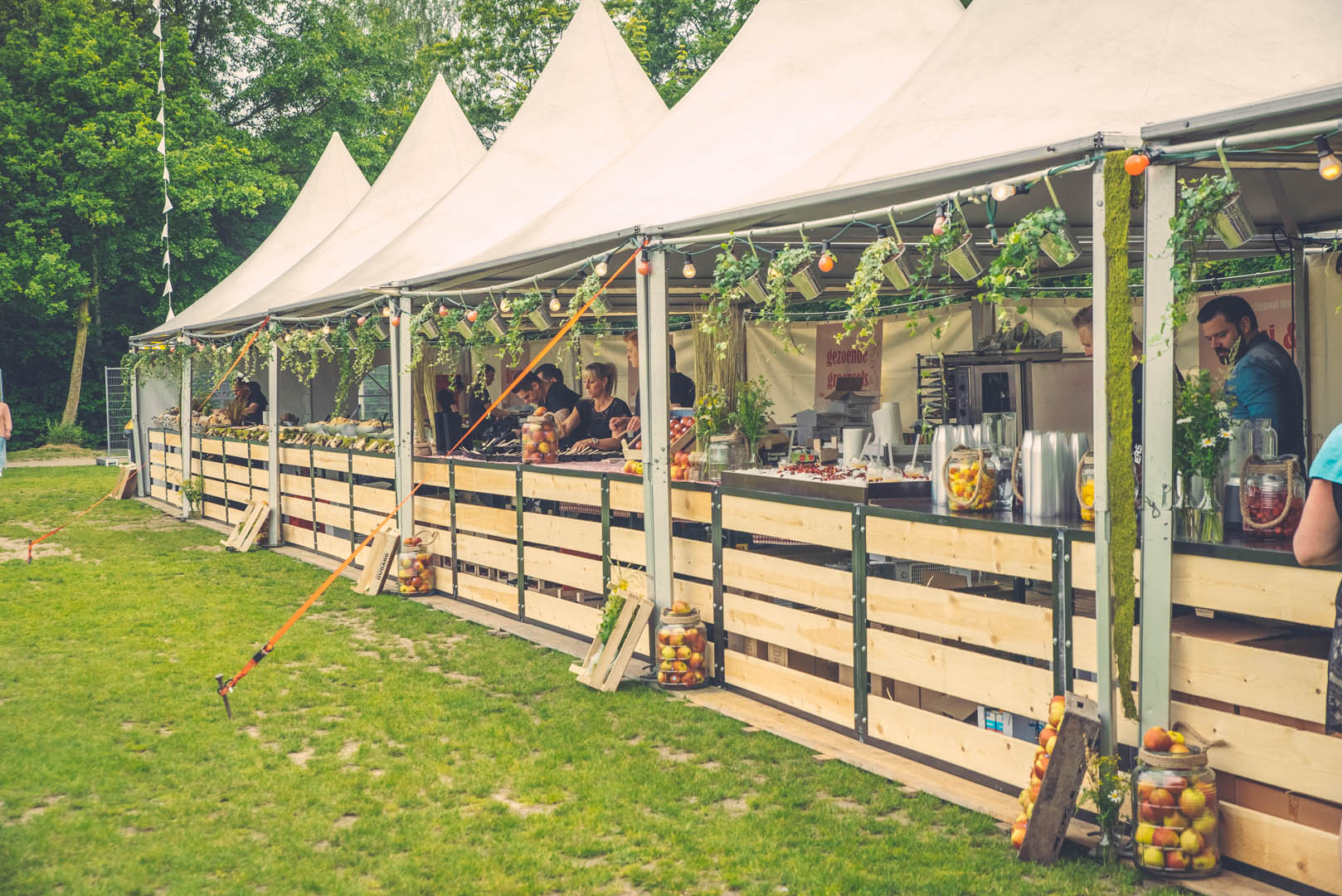 Stad Gent Picknick Event Eetkramen