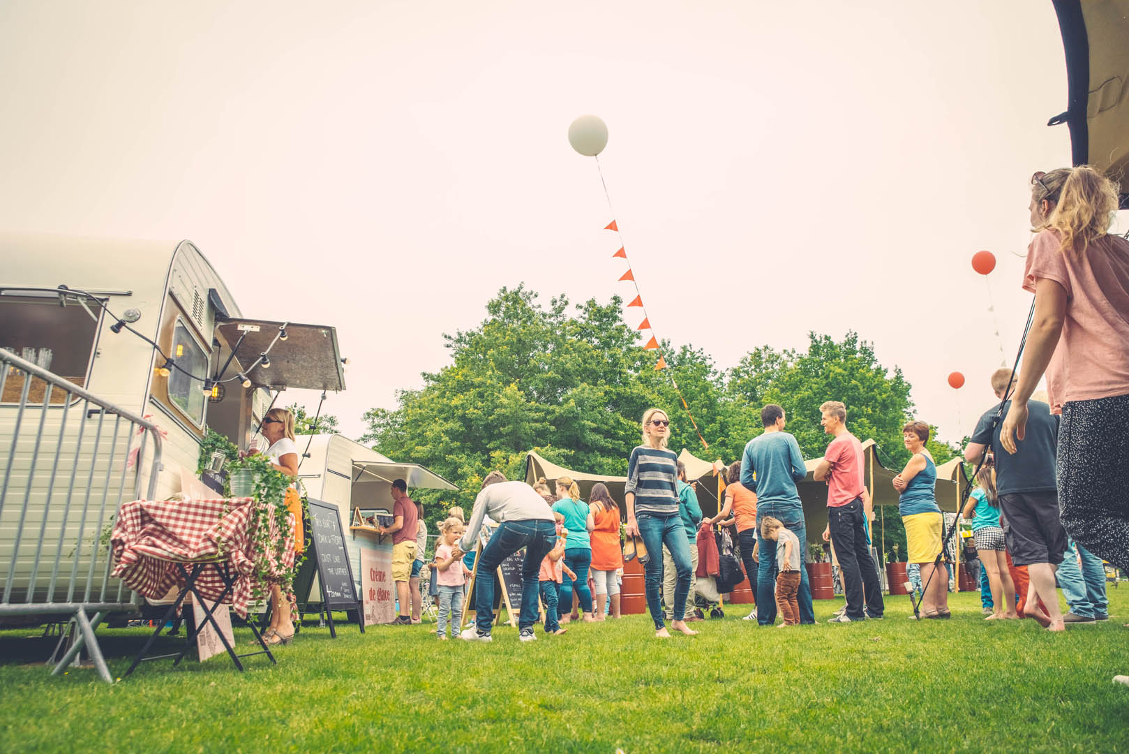 Stad Gent Picknick Event Groep