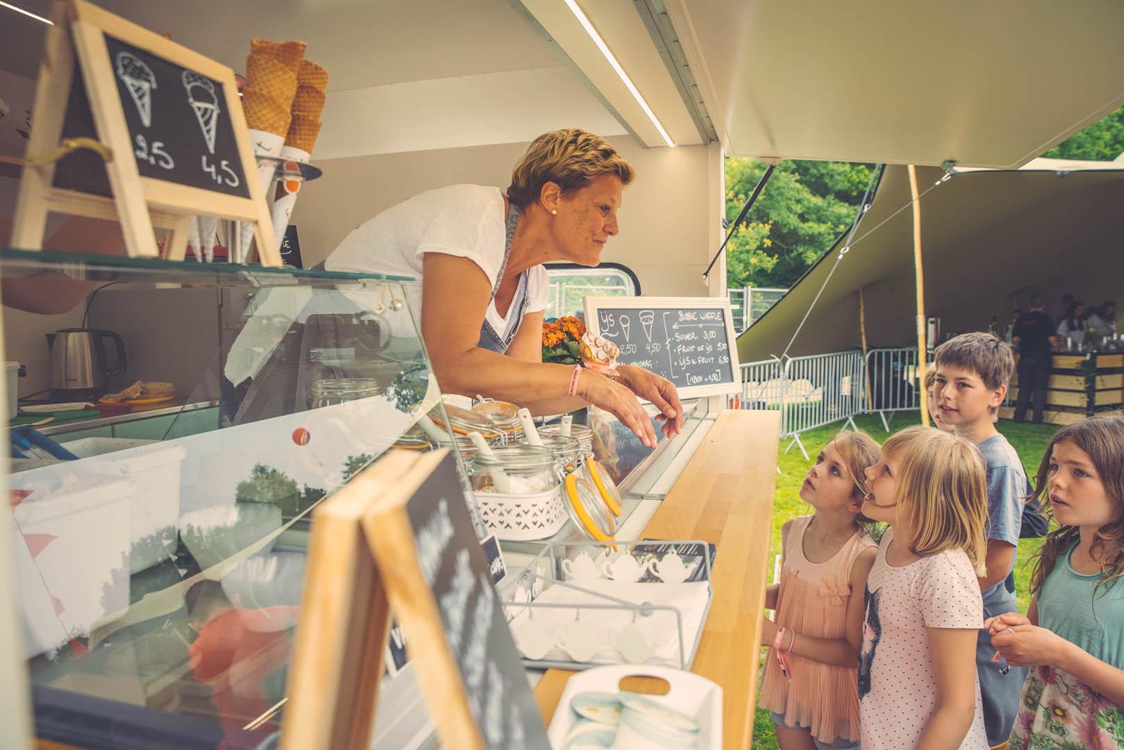 Stad Gent Picknick Event Ijs