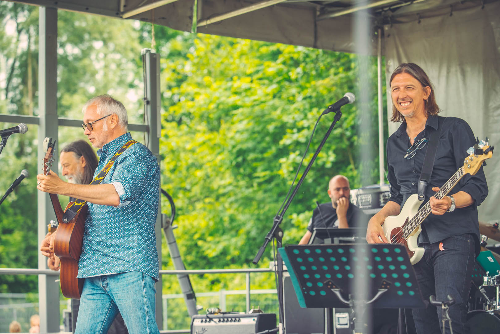 Stad Gent Picknick Event Laatste Show Band