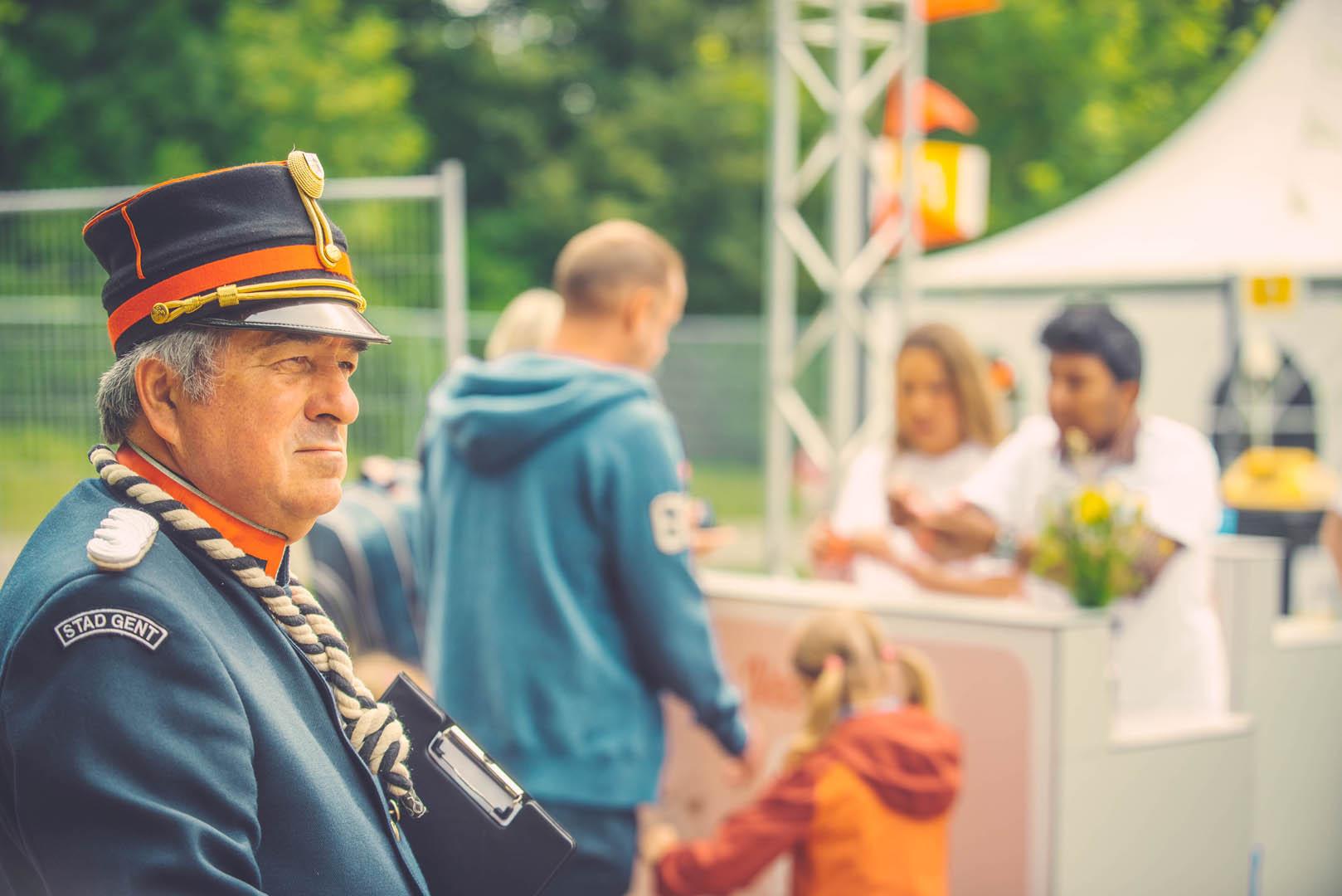 Stad Gent Picknick Event Omroeper