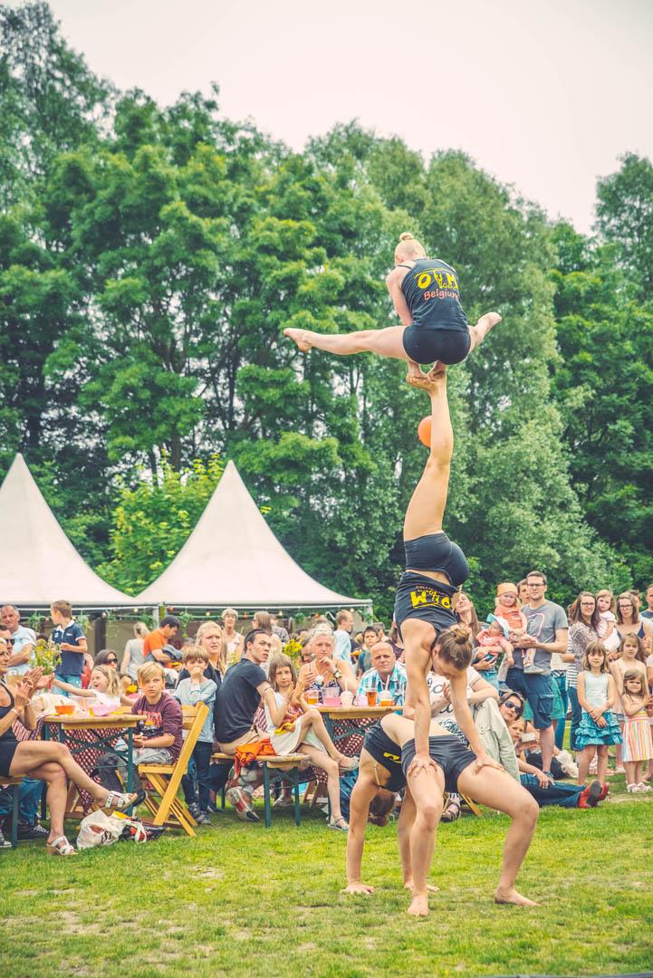 Stad Gent Picknick Event Optreden