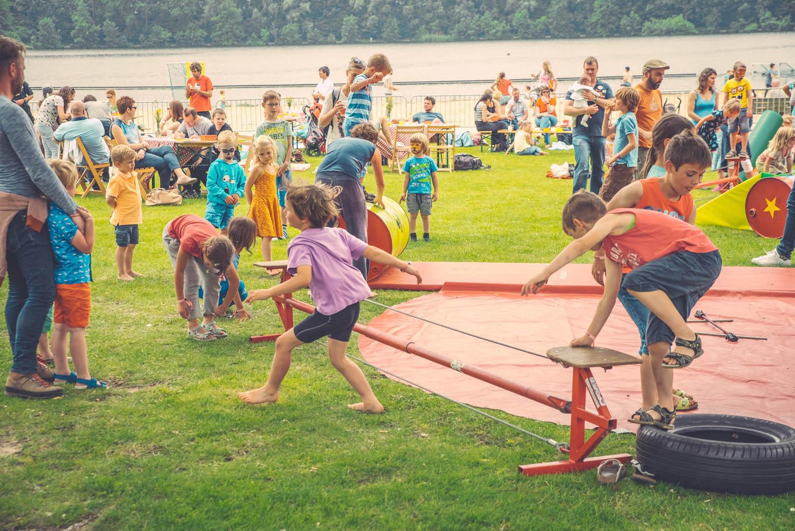 Stad Gent Picknick Event Randanimatie