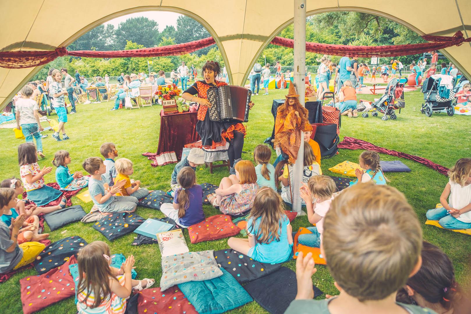 Stad Gent Picknick Event Tent